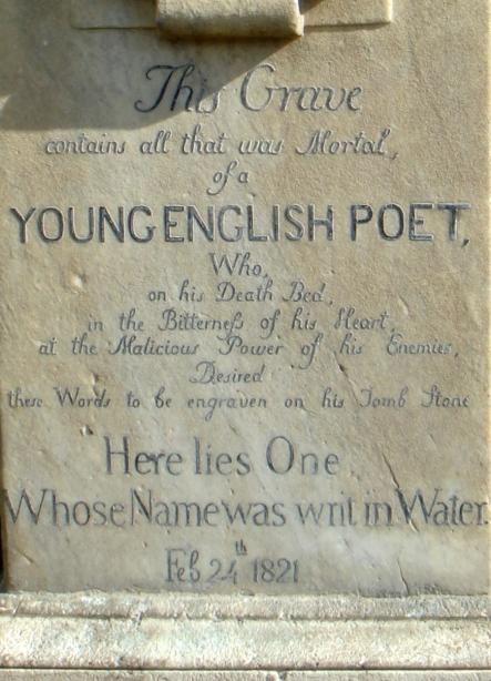 John-Keats-Grave