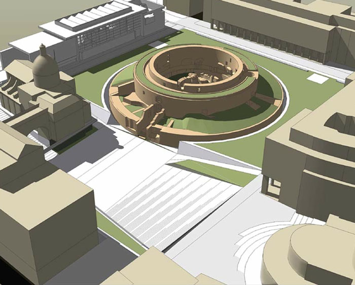 Piazza Augusto Imperatore: niemandsland inRome