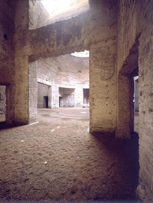 De 'Octagonale zaal' in de Domus Aurea. Foto: SSBAR (E. Monti)