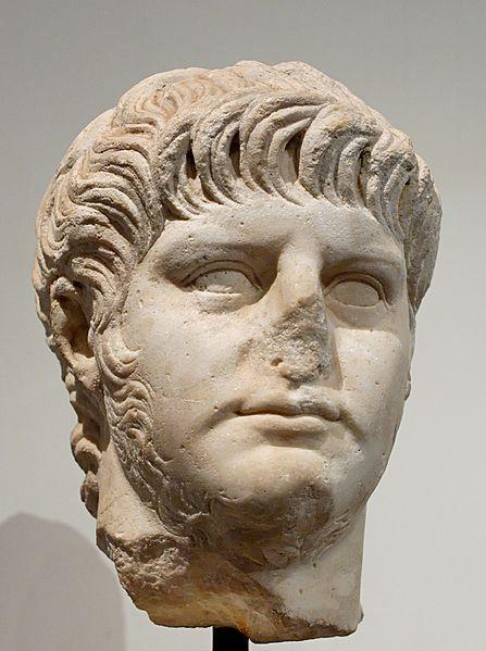 Portret van Nero, 1ste eeuw n.Chr.