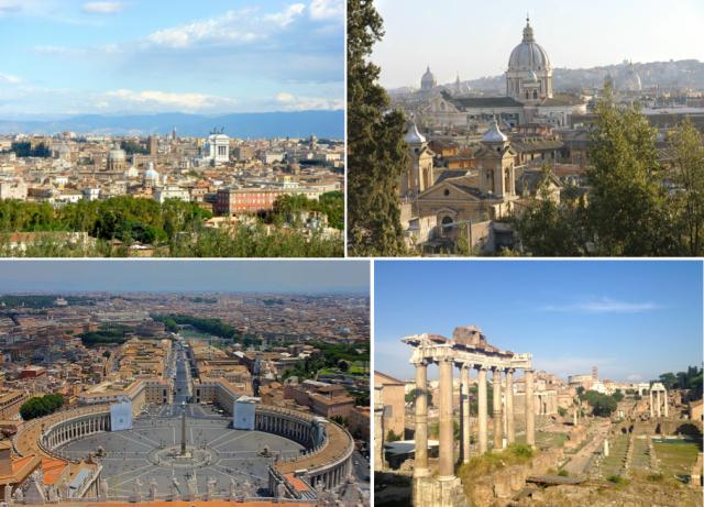 Rome-uitkijkpunten