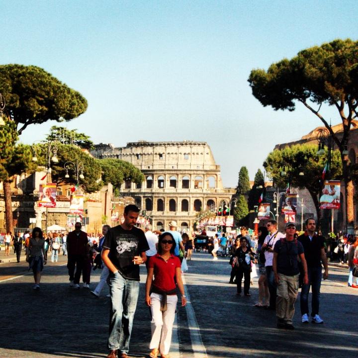Romeins straatfeest