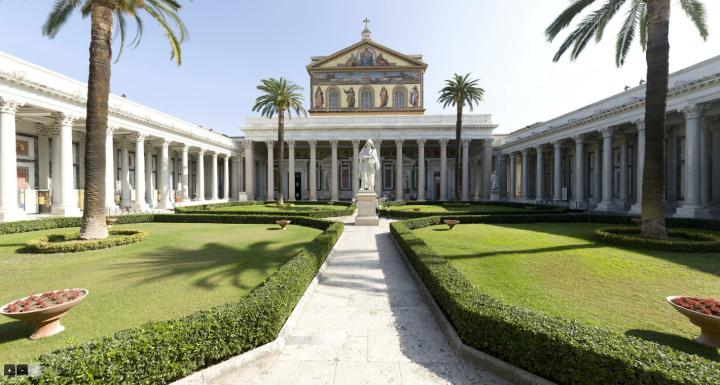San Paolo Fuori le Mura,Rome