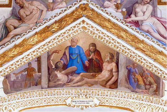 De Cappella Paolina inRome