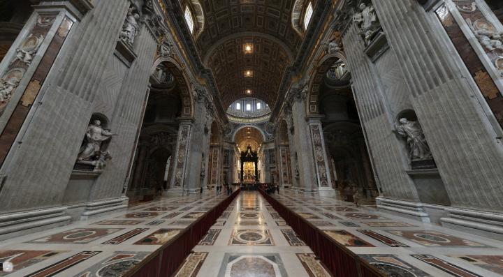 De Sint-Pieter in Romebezoeken