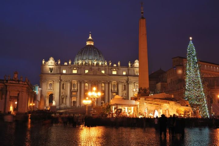 Kerstshoppen in Rome