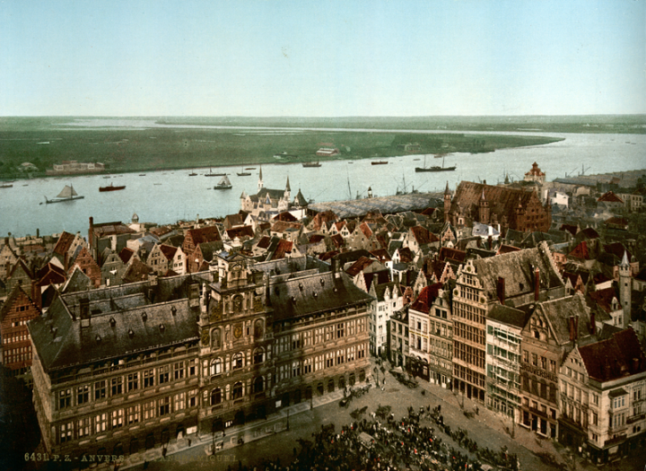 Antwerp_and_the_river_Scheldt,_photochrom