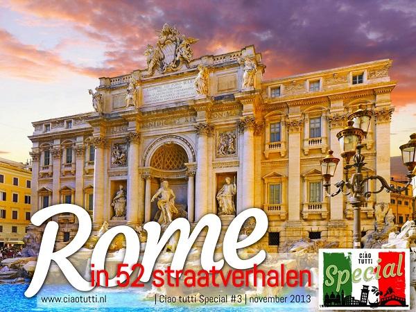 Binnenkort: Rome in 52straatverhalen