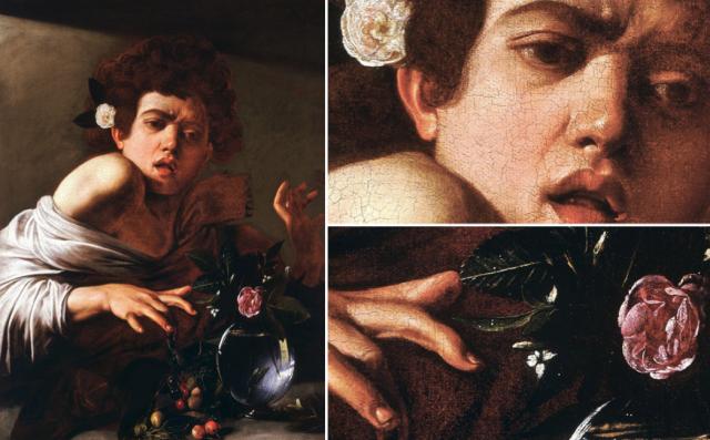 Een-Jongen-gebeten-door-een-hagedis-Caravaggio