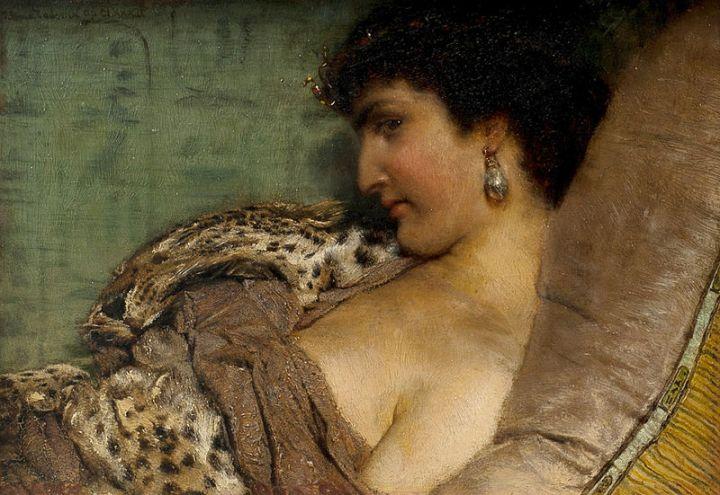 Cleopatra komt naarRome
