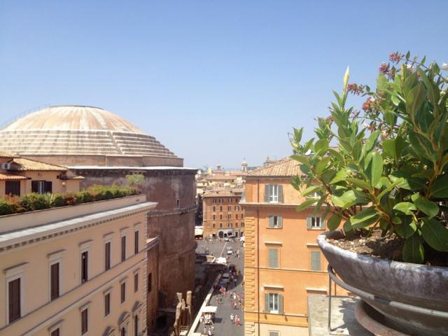 Pantheon-achterzijde