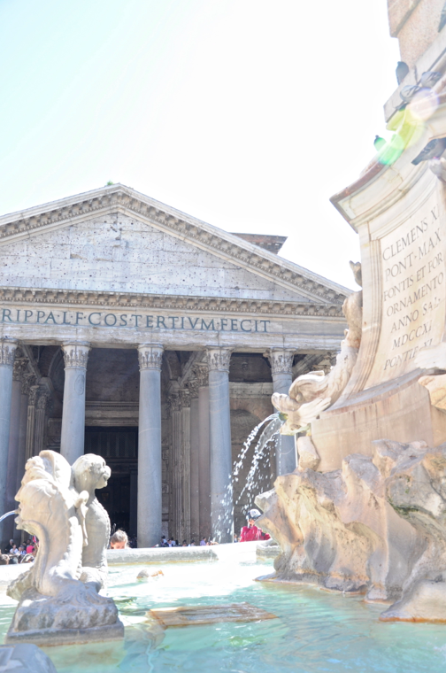 Pantheon-fontein