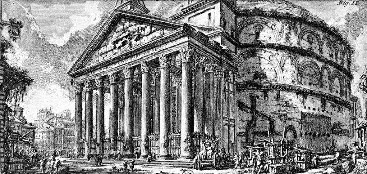Pantheon-Piranesi