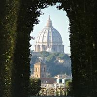 Het drielandenpunt in Rome