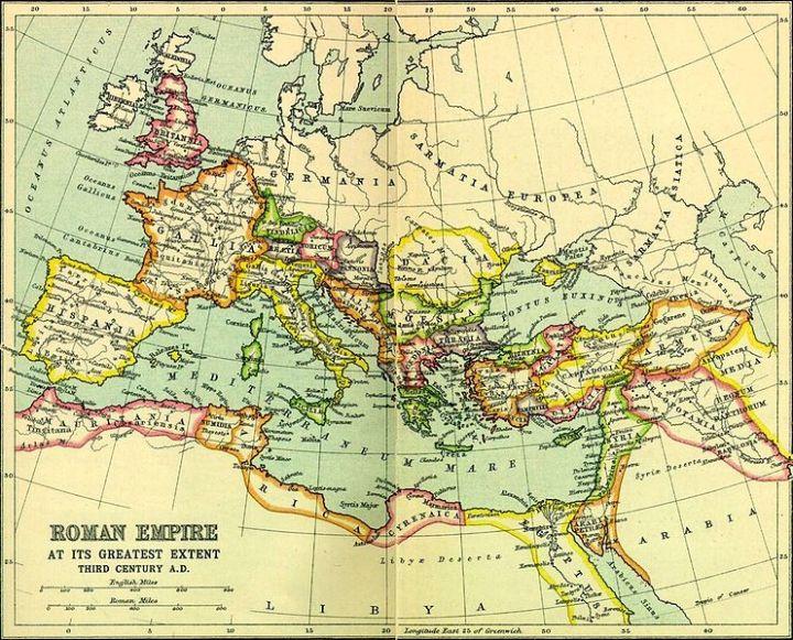 Het oude Rome, het nieuweRome