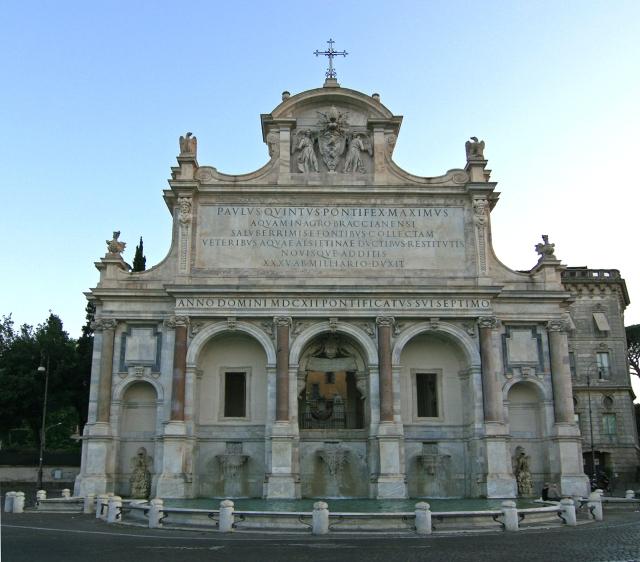 Fontana_Paola_Rome