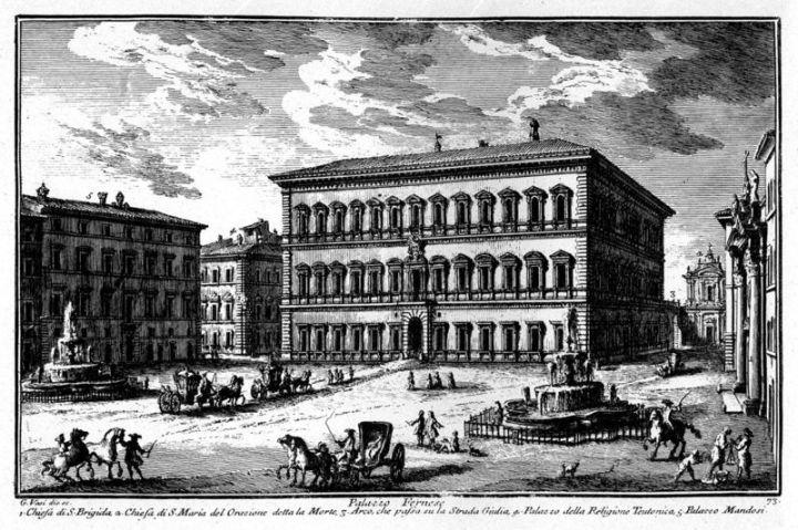 De kubus van Farnese: een wonder inRome