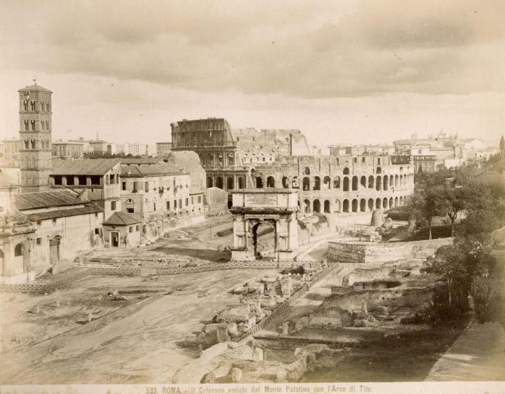 Foto's van Rome anno1875-1900