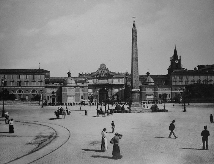 Piazza del Popolo 1890