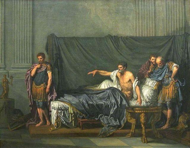 Jean-Baptiste Greuze, Septimius Severus en Caracalla