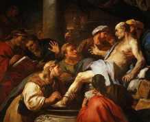 De dood van Seneca, Luca Giordano (1684)