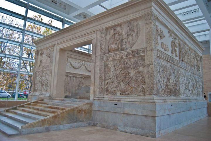 Tentoonstelling erfenis Augustus opent in Ara PacisMuseum