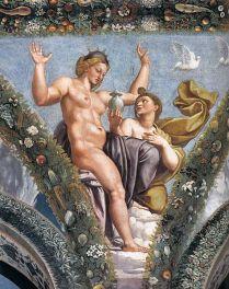 Raffael,_Loggia_di_Psiche_villa_Farnesina,_Rome_08