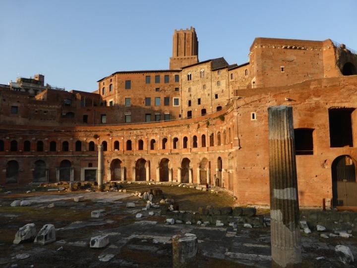 De sleutels van Rome, stad vanAugustus