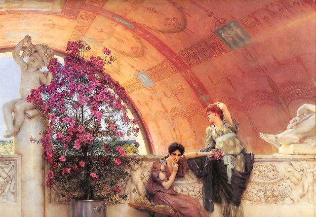 Alma-Tadema_Unconscious_Rivals_1893