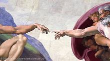 The-Creation-of-Adam_Michelangelo_detail
