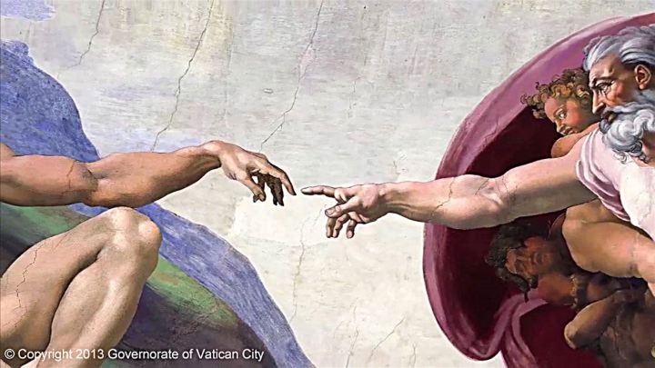 The-Creation-of-Adam_Michelangelo_detail
