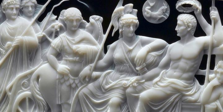 'Augustus op het spoor' in het Thermenmuseum