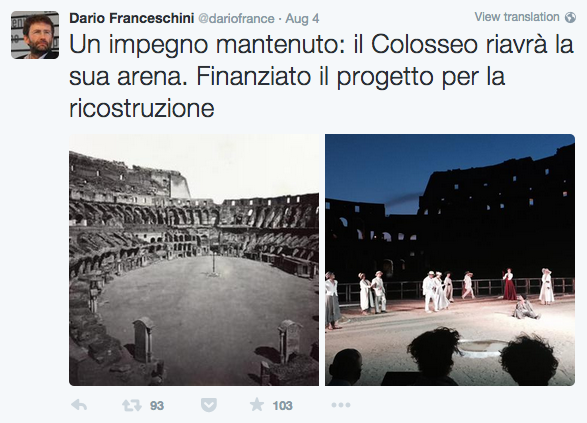 Dario-Franceschini-tweet
