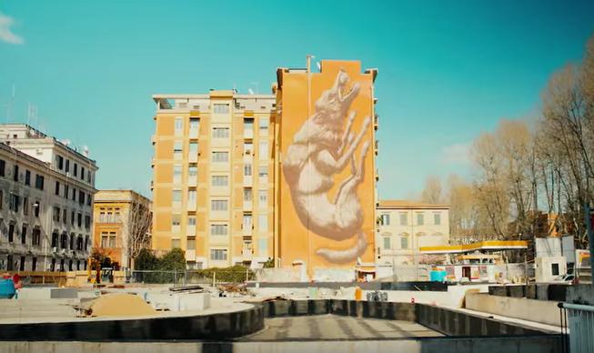 De kant van Rome die je nog niet kende: street art in desuburbs