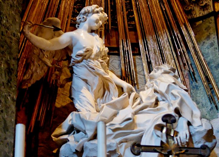 Nieuwe look voor Bernini's Extase vanTheresia