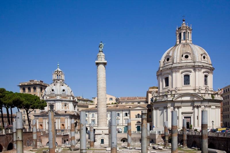 Forum van Trajanus Rome