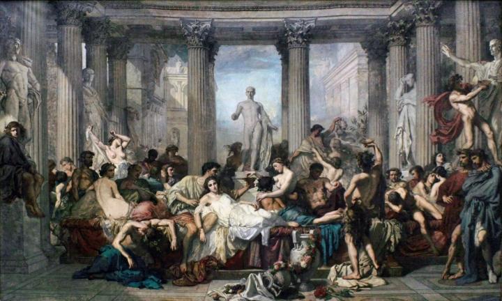 De opkomst en ondergang van het huis van JuliusCaesar