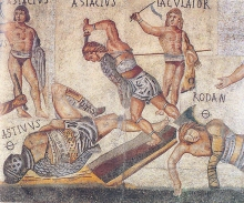 Gladiator-mosaic