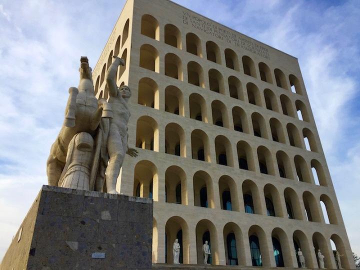 Het vierkante Colosseum