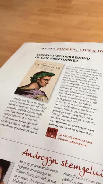 wéér zo'n mooie bespreking #italiemagazine